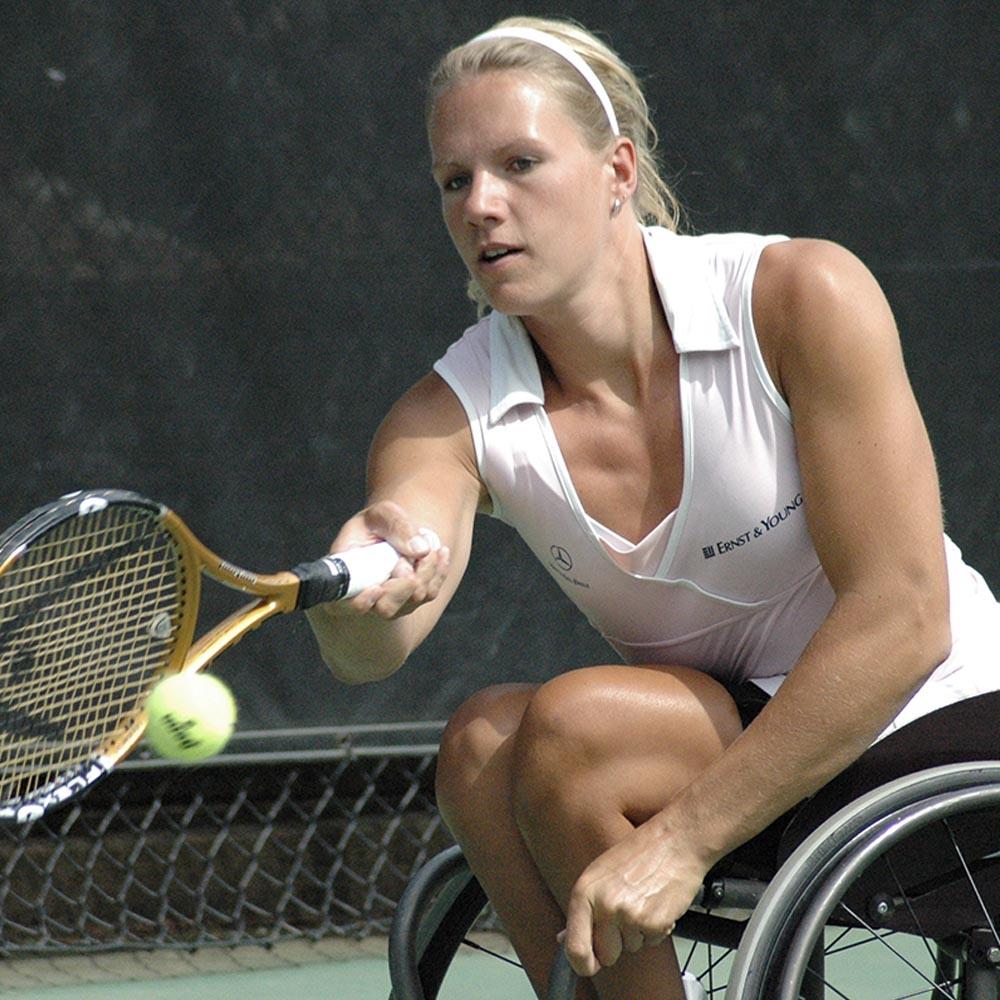 «Спорт на инвалидной коляске». Эстер Вергеер