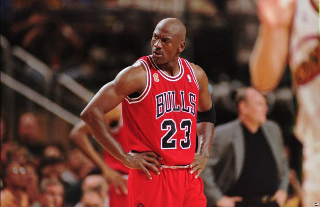 a report of michael jordan as the greatest player in the history of the nba