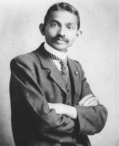 Махатма Ганди. молодость