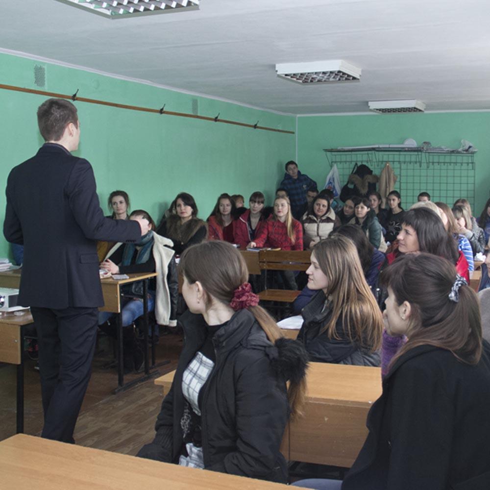 19/03/15 Мотивация для студентов ДАСОА (г.Кировоград)