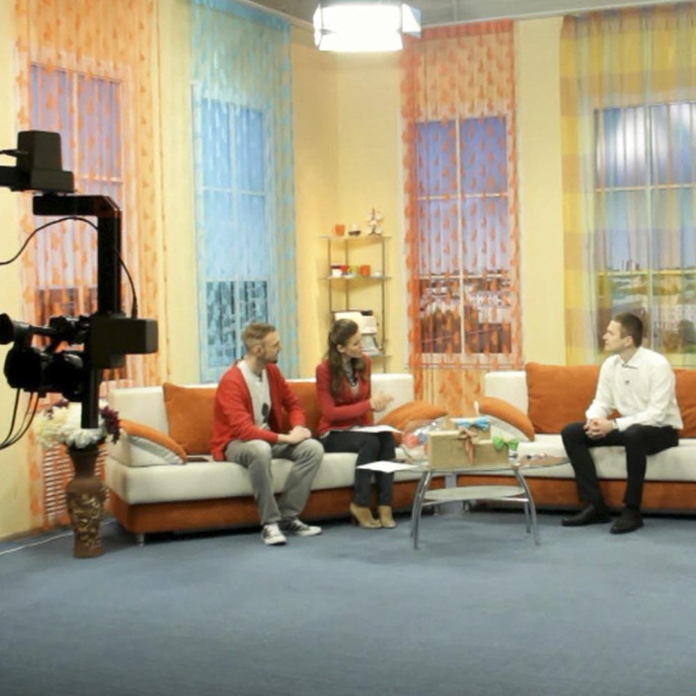 31/03/15 Выступление на ТВ. Рубрика «Ранкова кава»