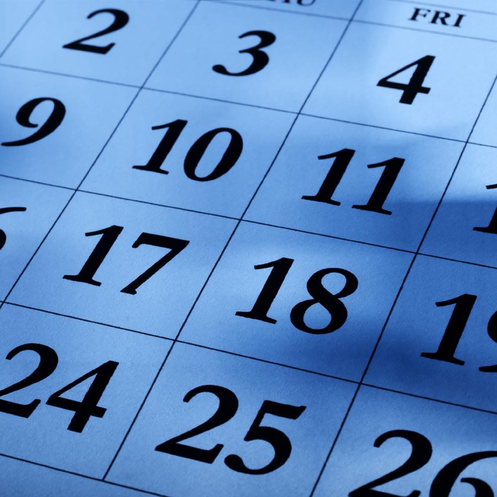 Эффективное расписание, которого я придерживаюсь