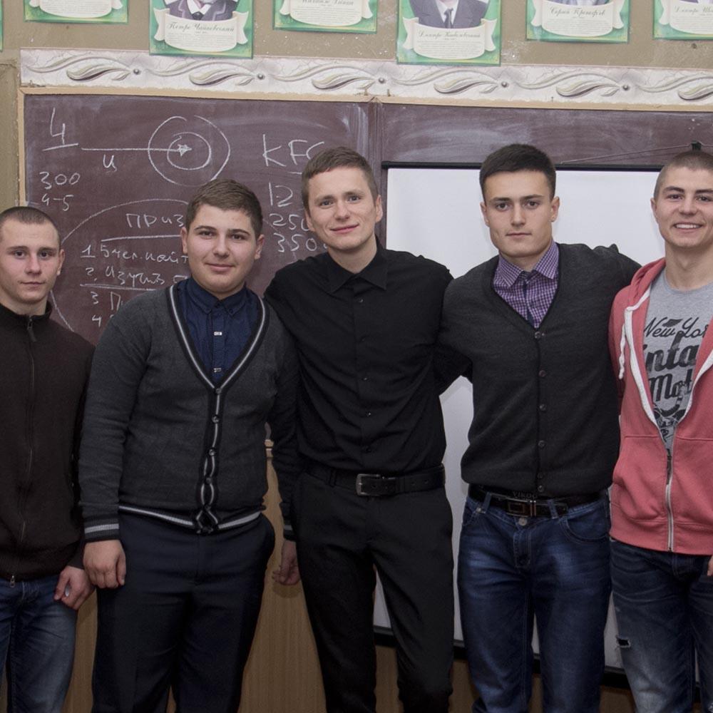 05/11/15 Семинар для учащихся 33 школы (г.Кировоград)