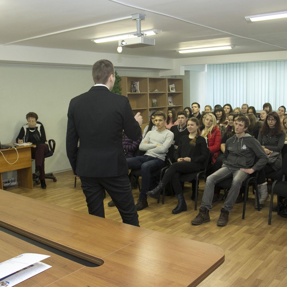 01/03/16 Мастер-класс для студентов КиМУ (г.Киев)