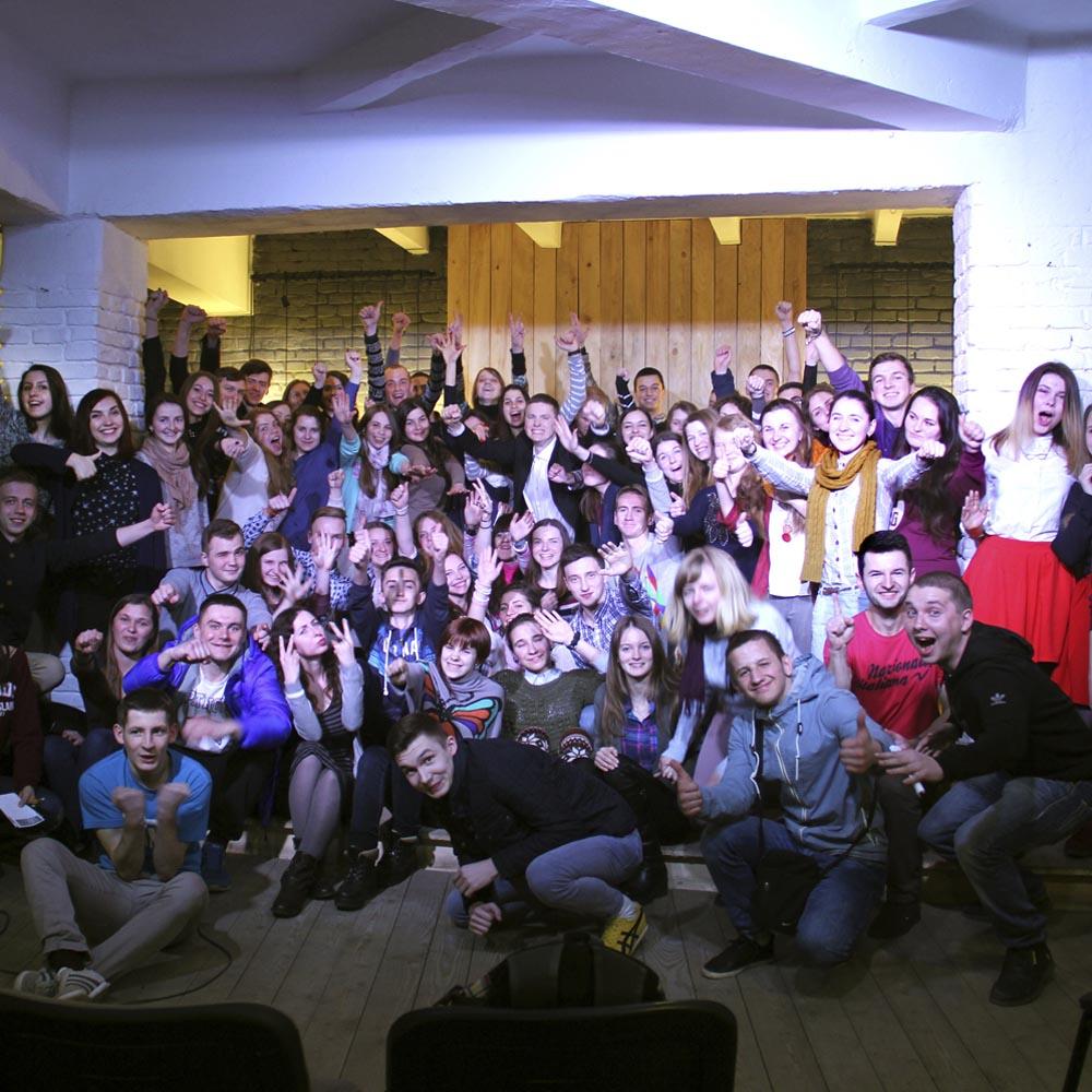 14/03/16 Мотивационный семинар для CAMPUS (г.Львов)