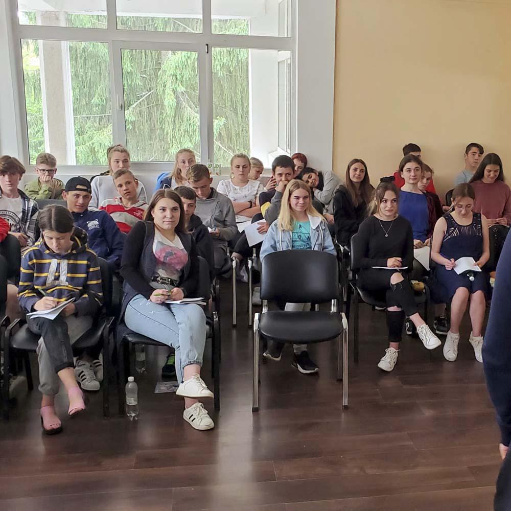30.05.21   Вдохновляющий семинар для подростков (г.Киев)